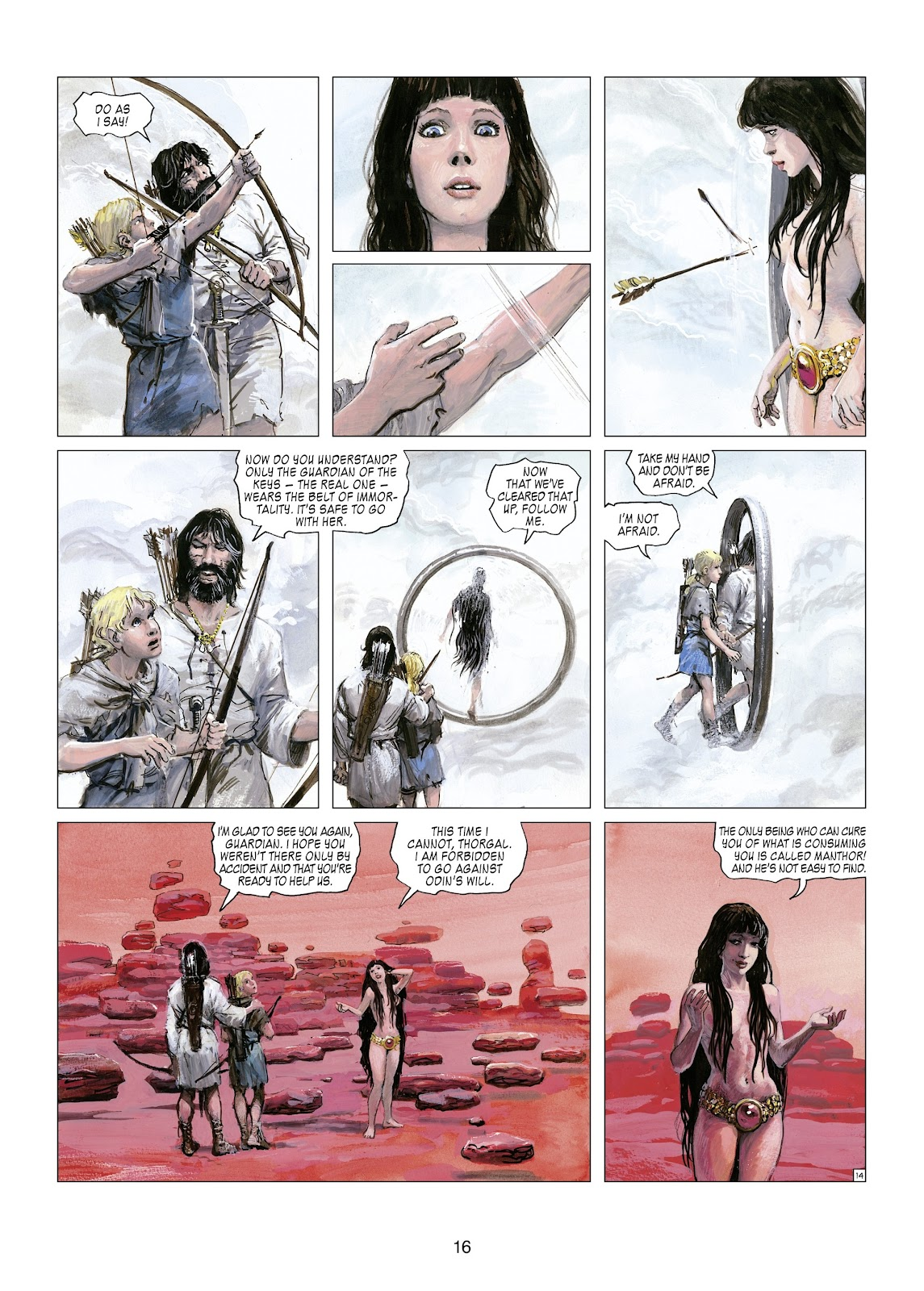 Read online Thorgal comic -  Issue #21 - 18