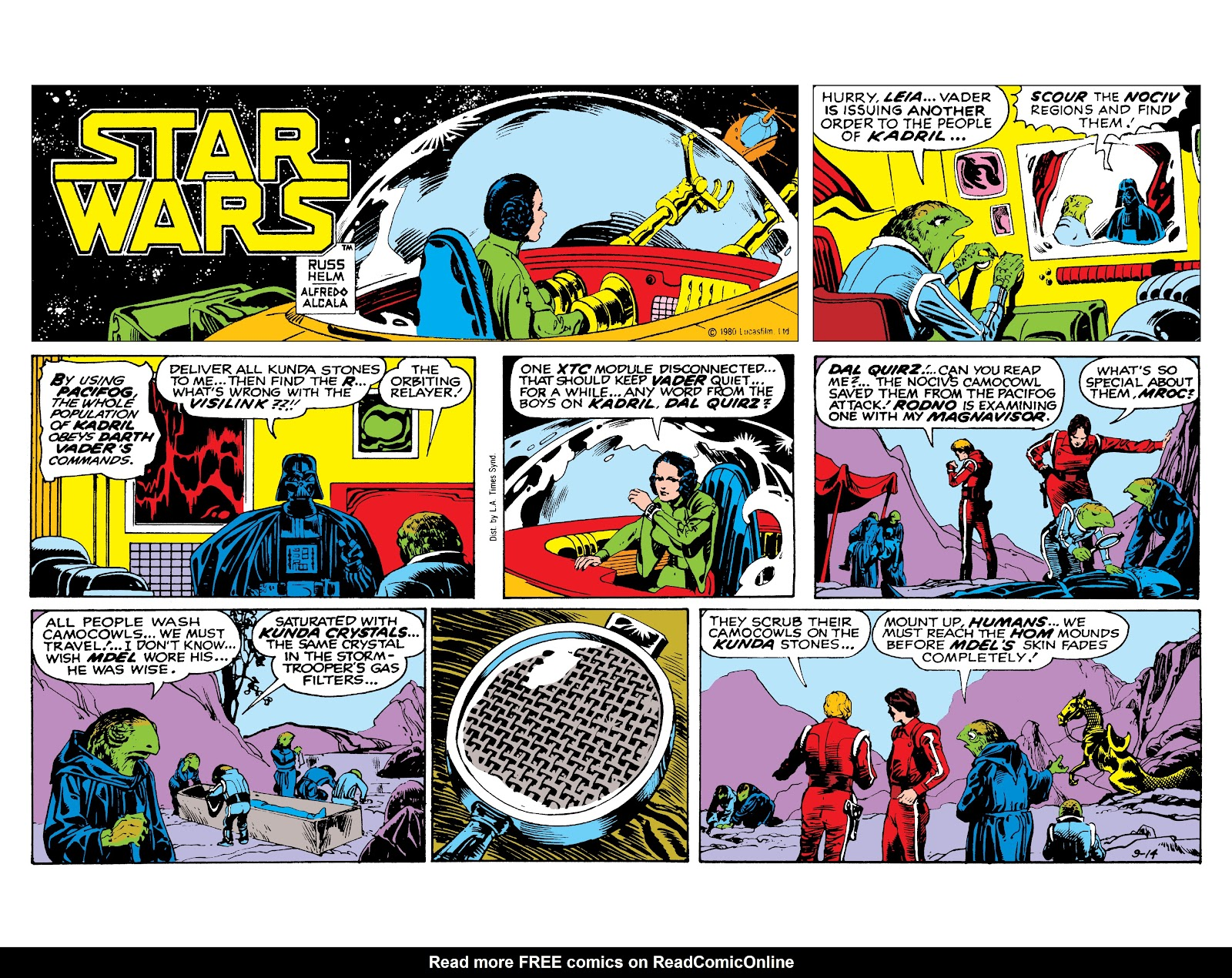 Read online Star Wars Legends: The Newspaper Strips - Epic Collection comic -  Issue # TPB (Part 3) - 95