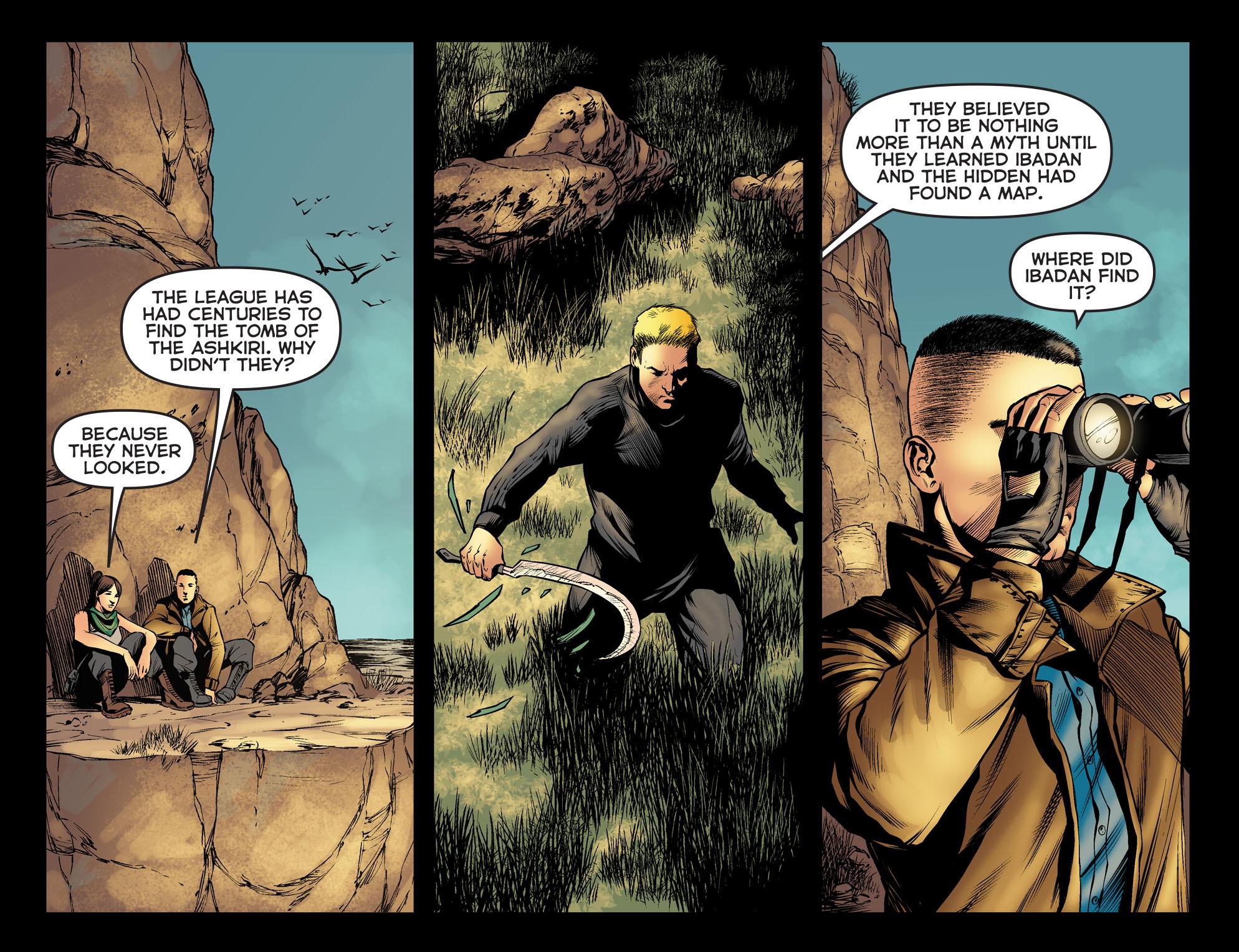 Read online Arrow: The Dark Archer comic -  Issue #5 - 17
