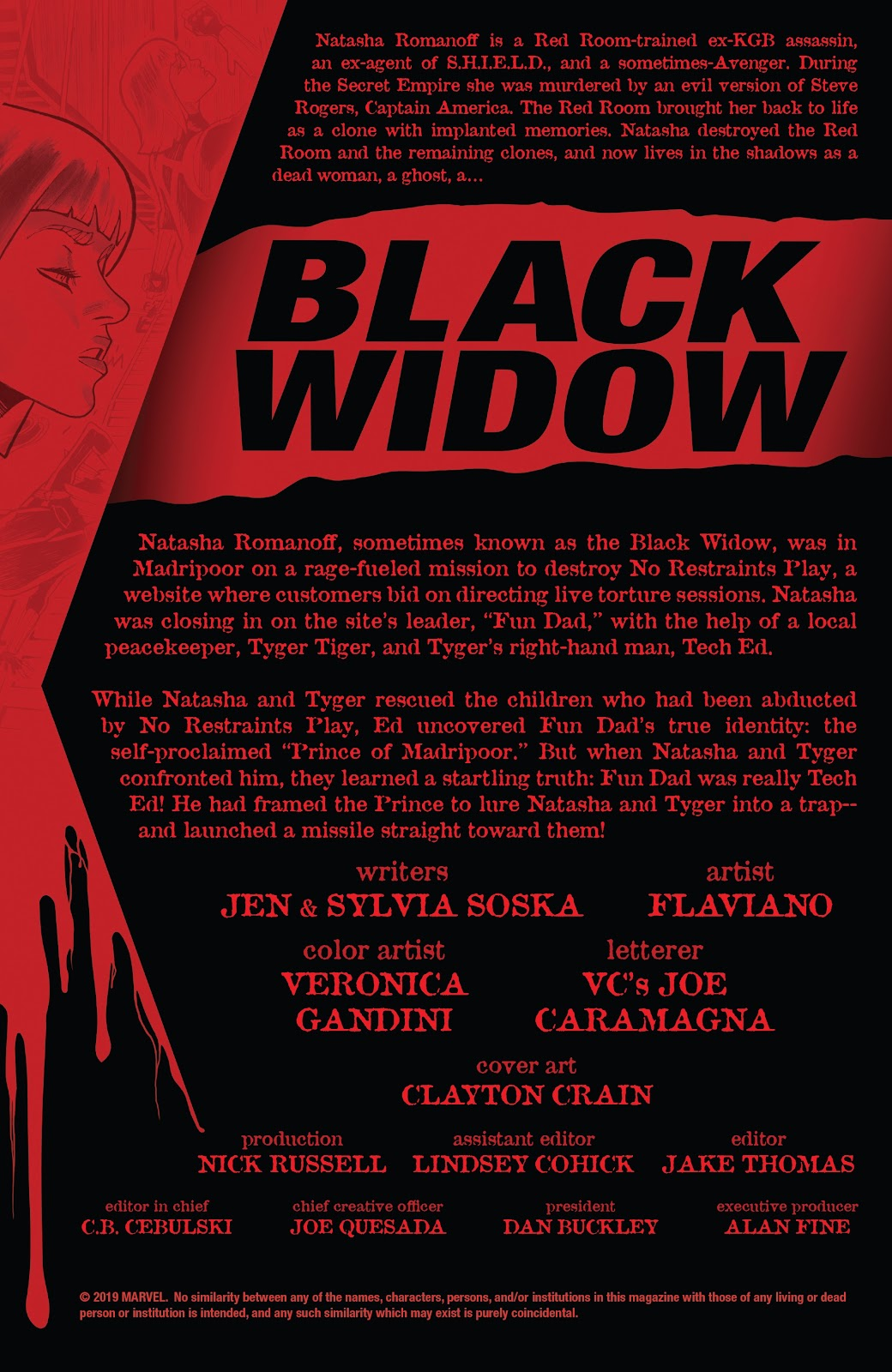 Read online Black Widow (2019) comic -  Issue #5 - 2