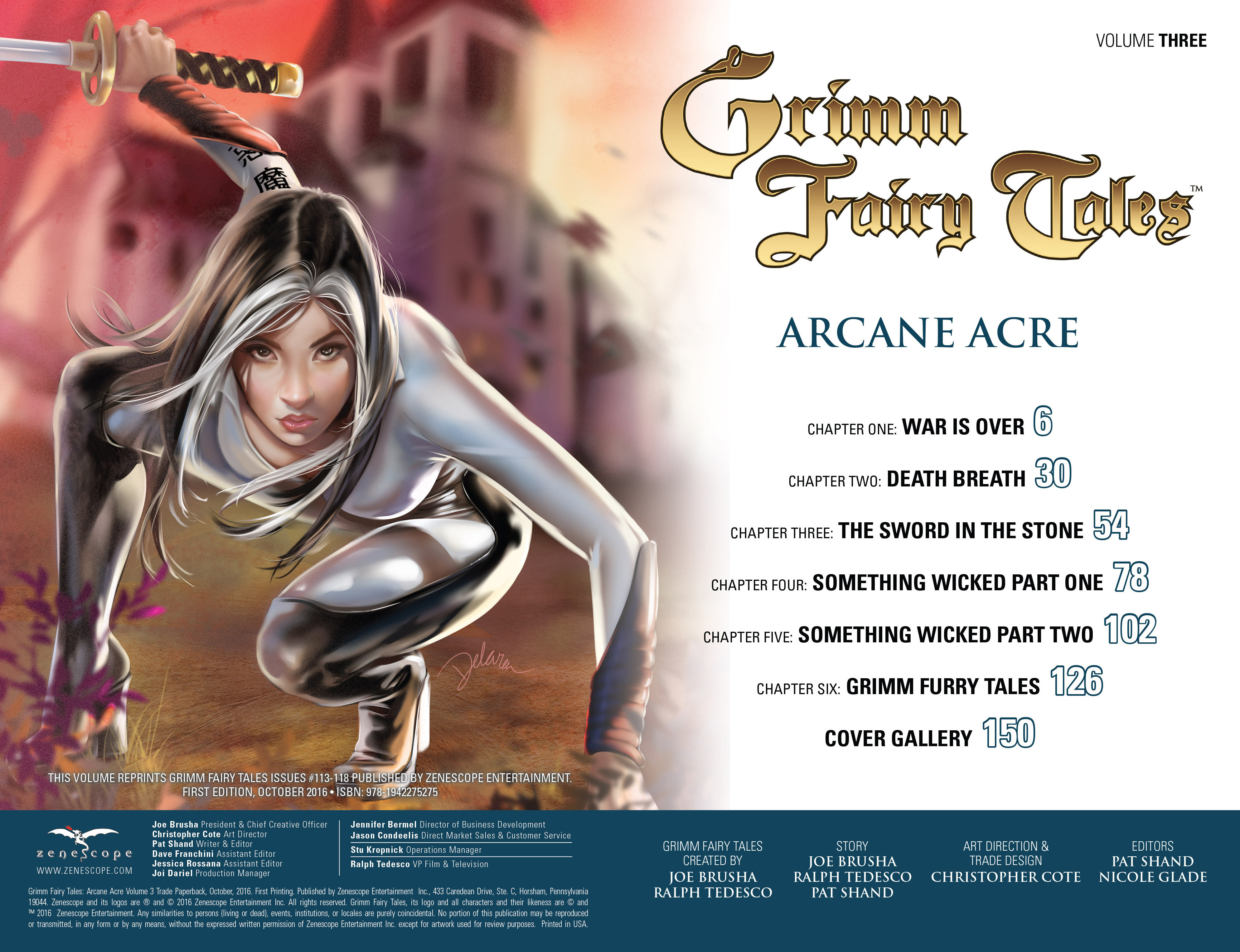 Read online Grimm Fairy Tales: Arcane Acre comic -  Issue # TPB 3 - 3