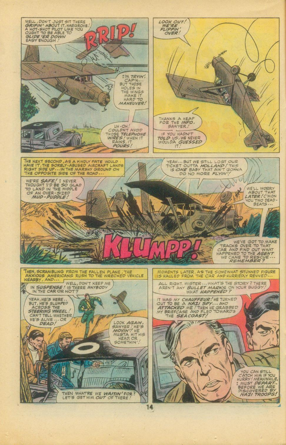 Read online Sgt. Fury comic -  Issue #136 - 16