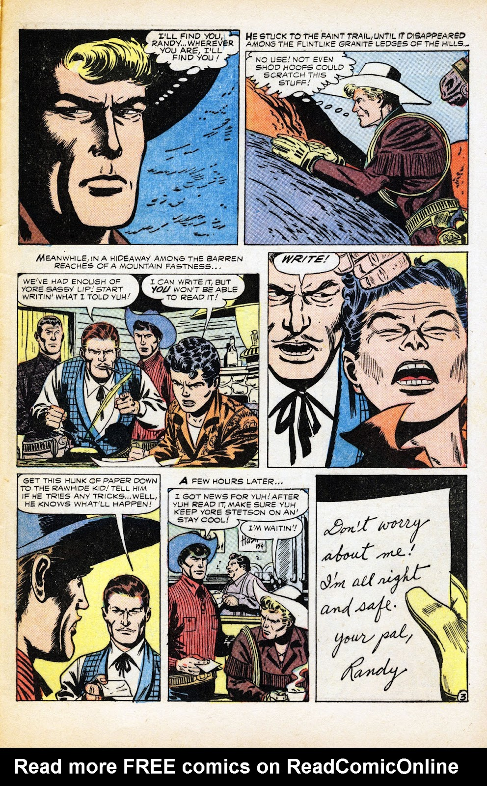 The Rawhide Kid (1955) issue 2 - Page 29
