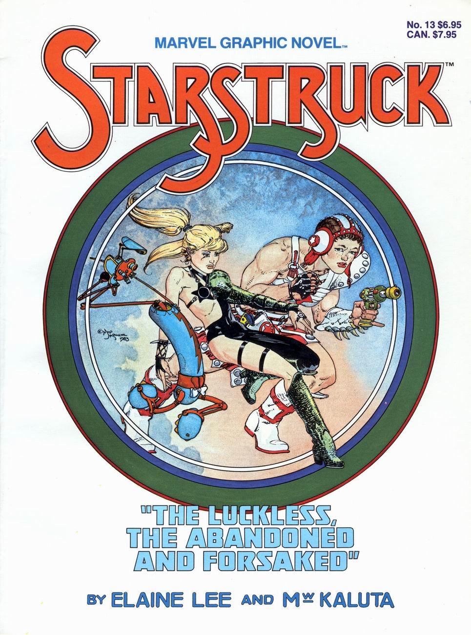 Marvel Graphic Novel 13_-_Starstruck Page 1