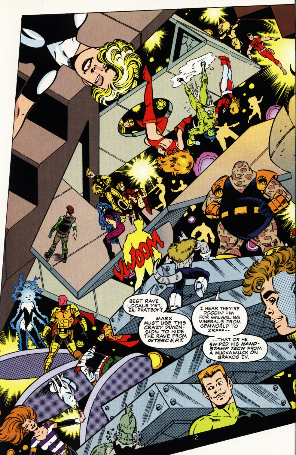 Read online Superboy & The Ravers comic -  Issue #5 - 3
