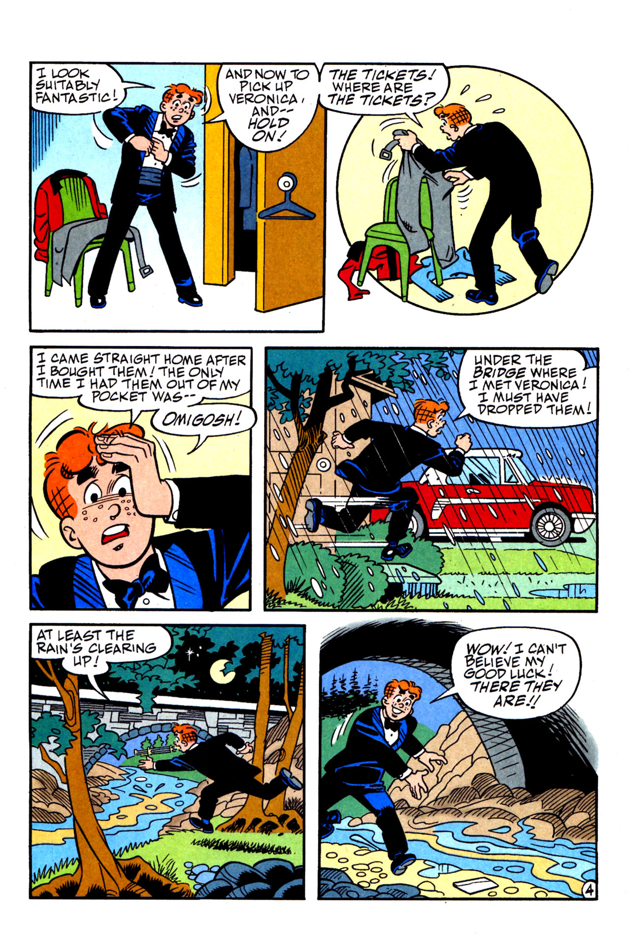 Read online Archie (1960) comic -  Issue #578 - 24