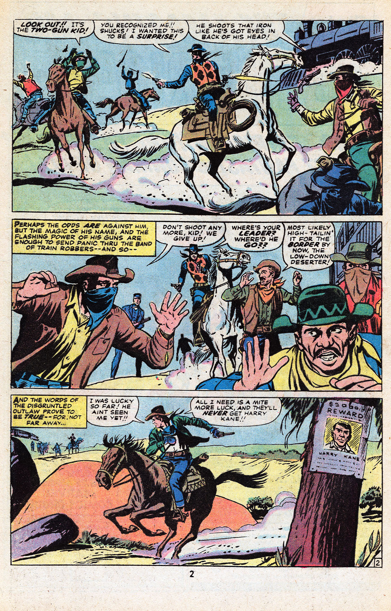 Read online Two-Gun Kid comic -  Issue #133 - 4
