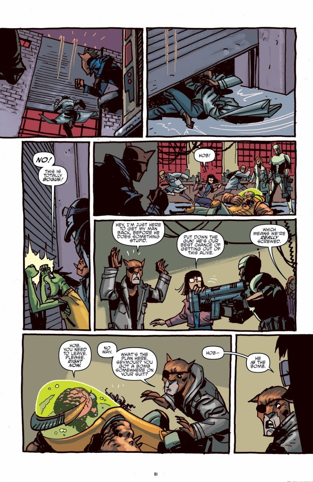 Read online Teenage Mutant Ninja Turtles: The IDW Collection comic -  Issue # TPB 6 (Part 1) - 80
