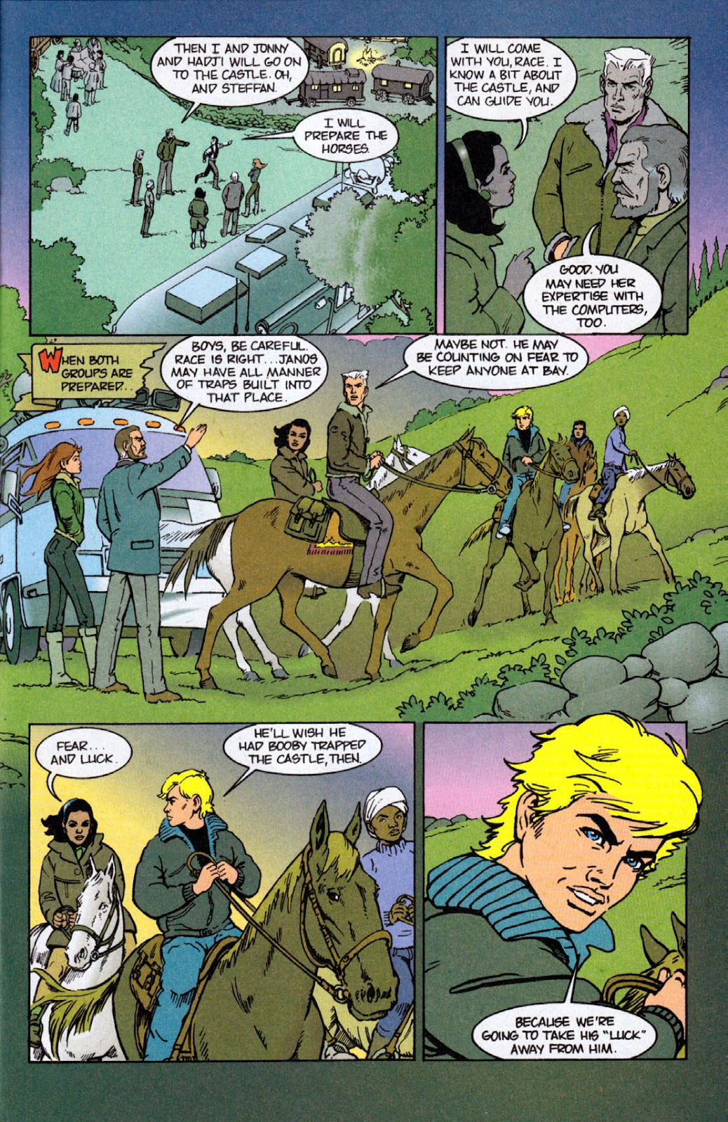 Read online The Real Adventures of Jonny Quest comic -  Issue #4 - 9