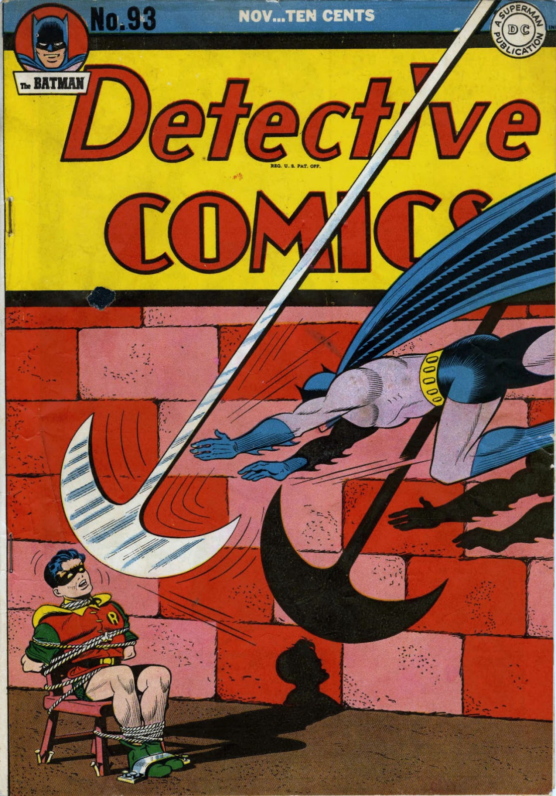 Detective Comics (1937) 93 Page 1