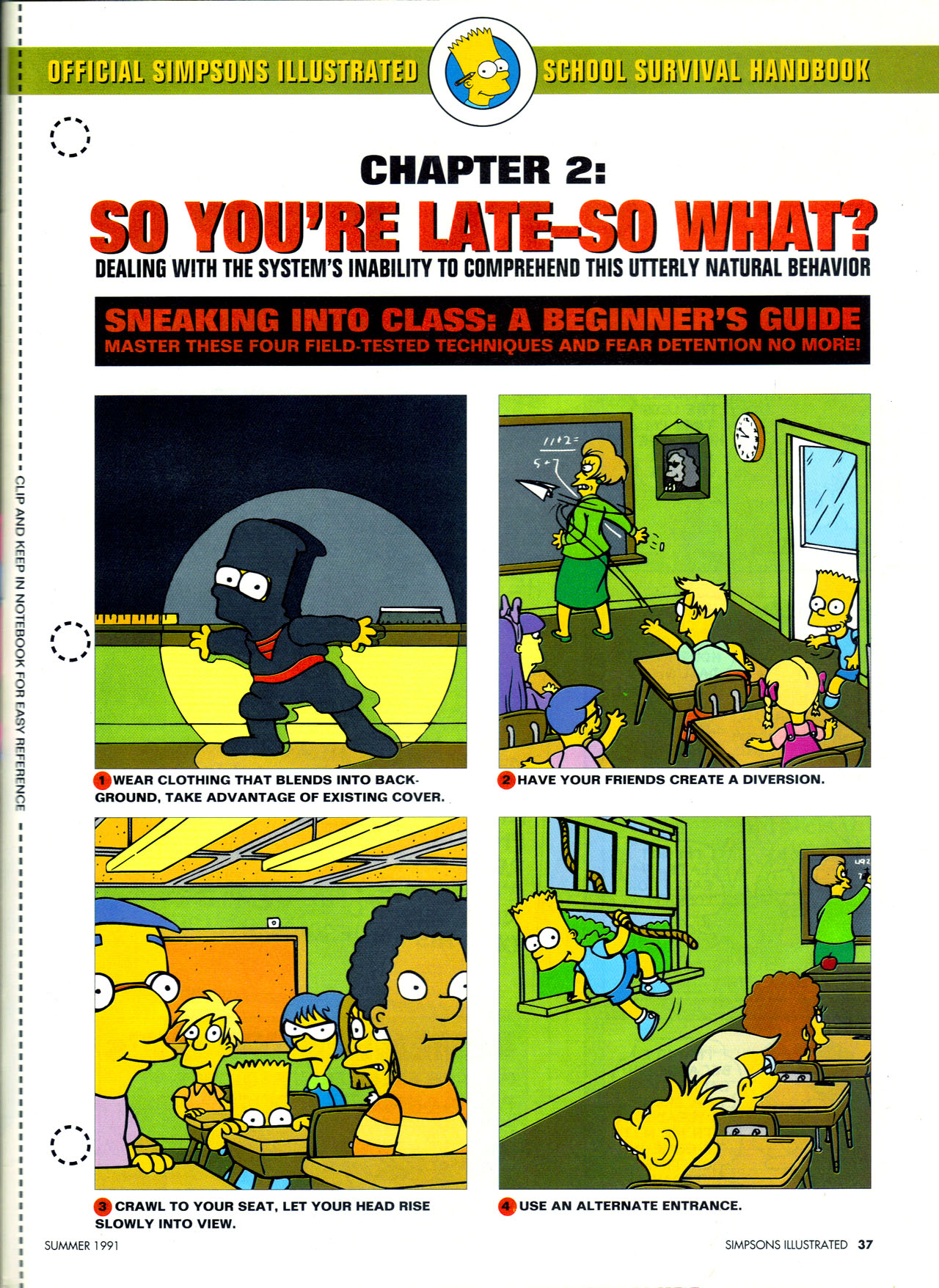 Read online Simpsons Illustrated (1991) comic -  Issue #2 - 35