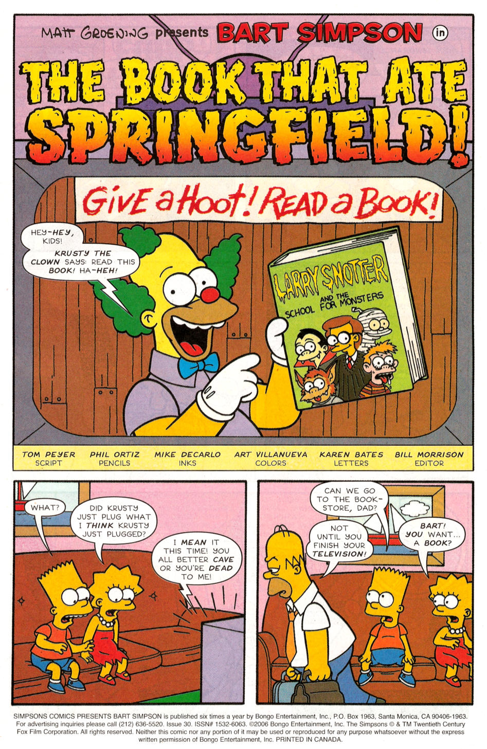 Read online Simpsons Comics Presents Bart Simpson comic -  Issue #30 - 2