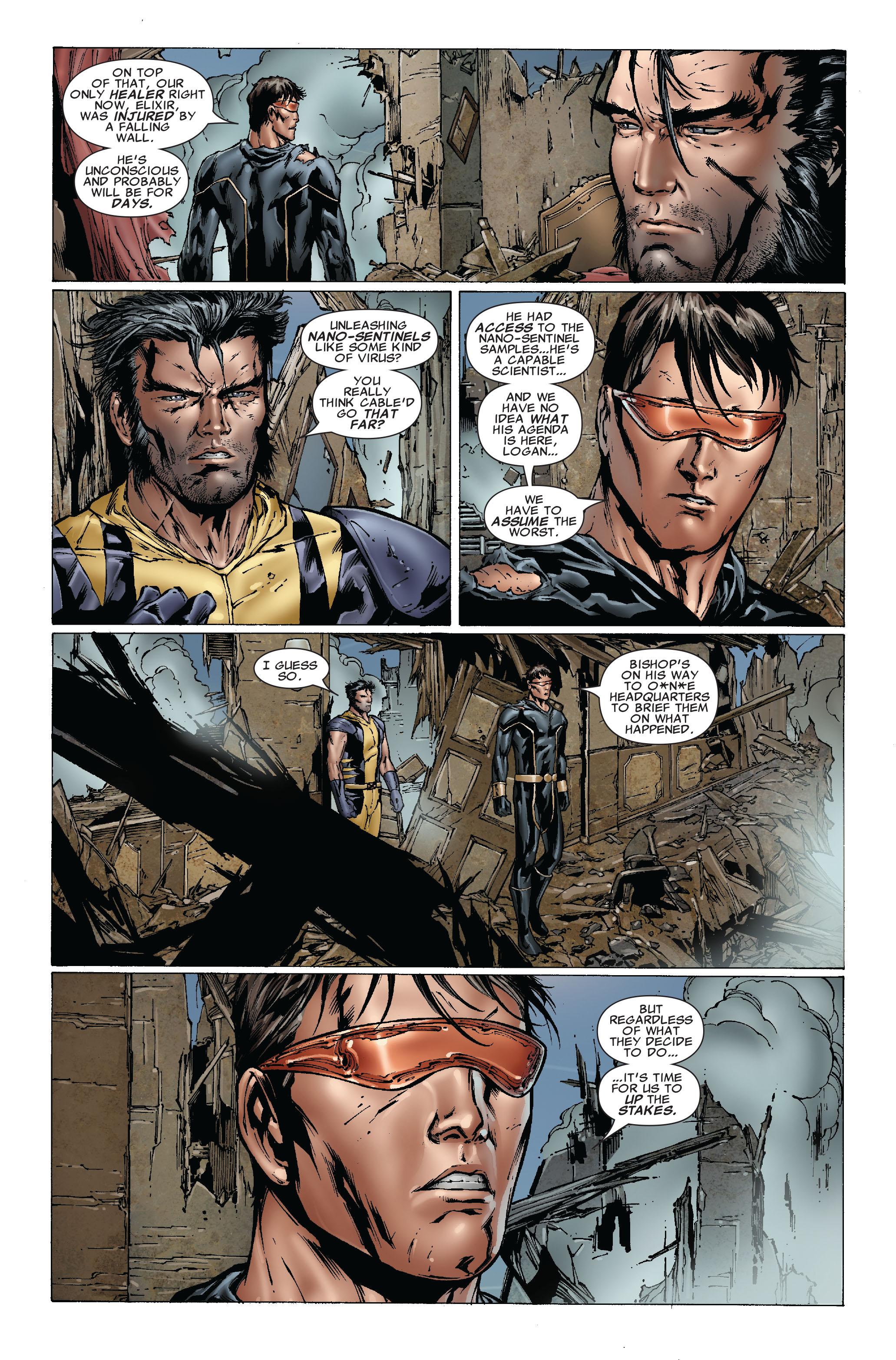 Read online Uncanny X-Men (1963) comic -  Issue #493 - 23