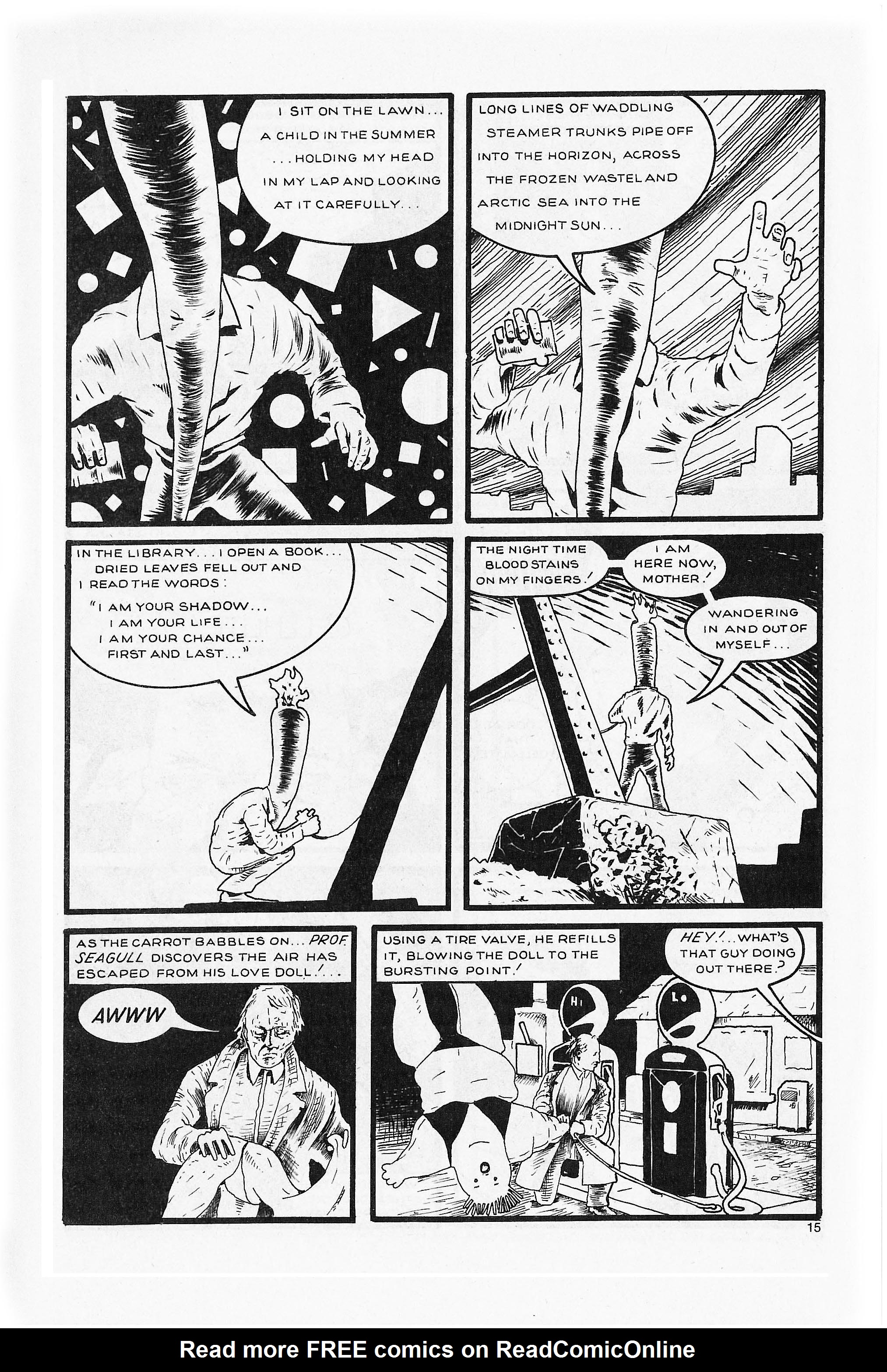Read online Flaming Carrot Comics (1984) comic -  Issue #5 - 17