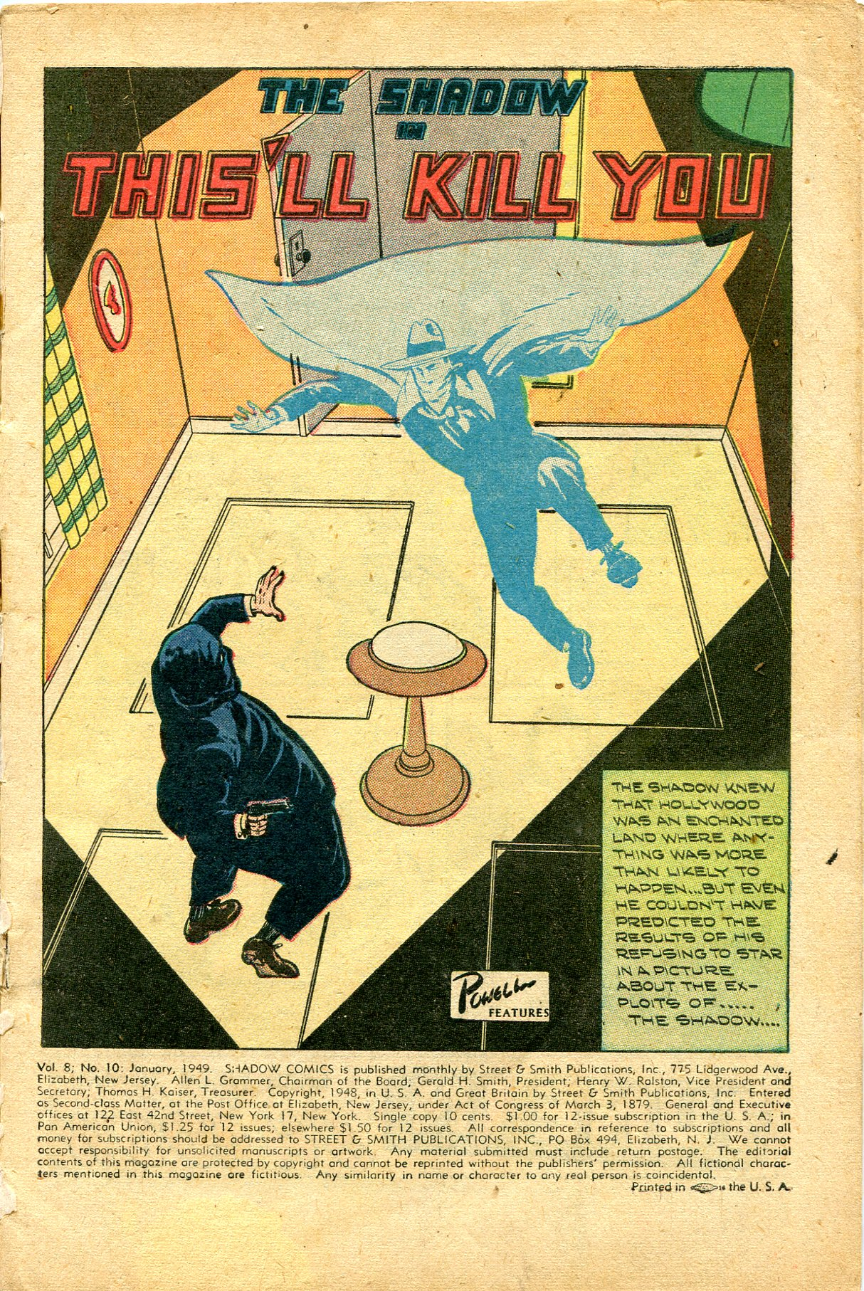 Read online Shadow Comics comic -  Issue #94 - 3
