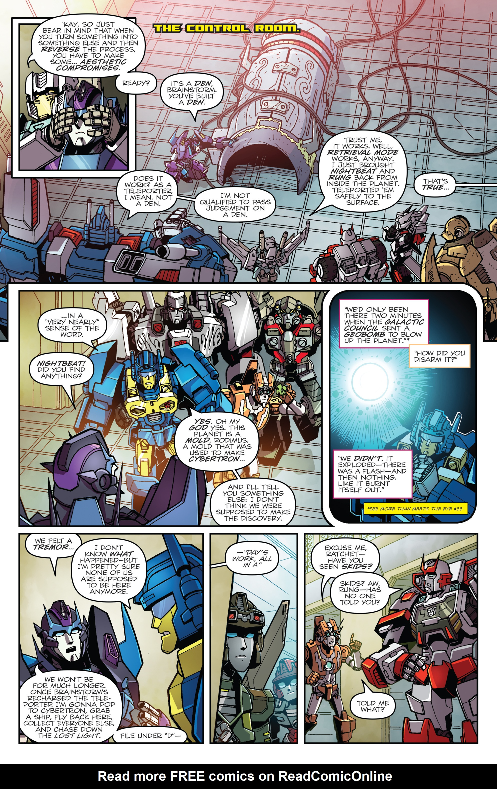 Read online Transformers: Lost Light comic -  Issue #1 - 15