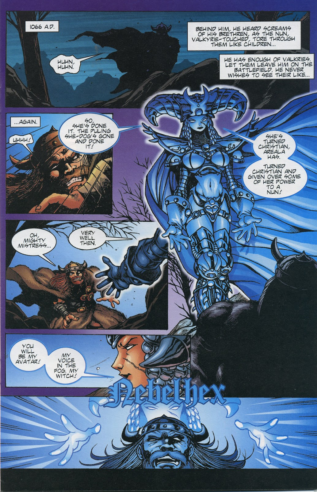 Warrior Nun Areala (1997) Issue #6 #6 - English 3