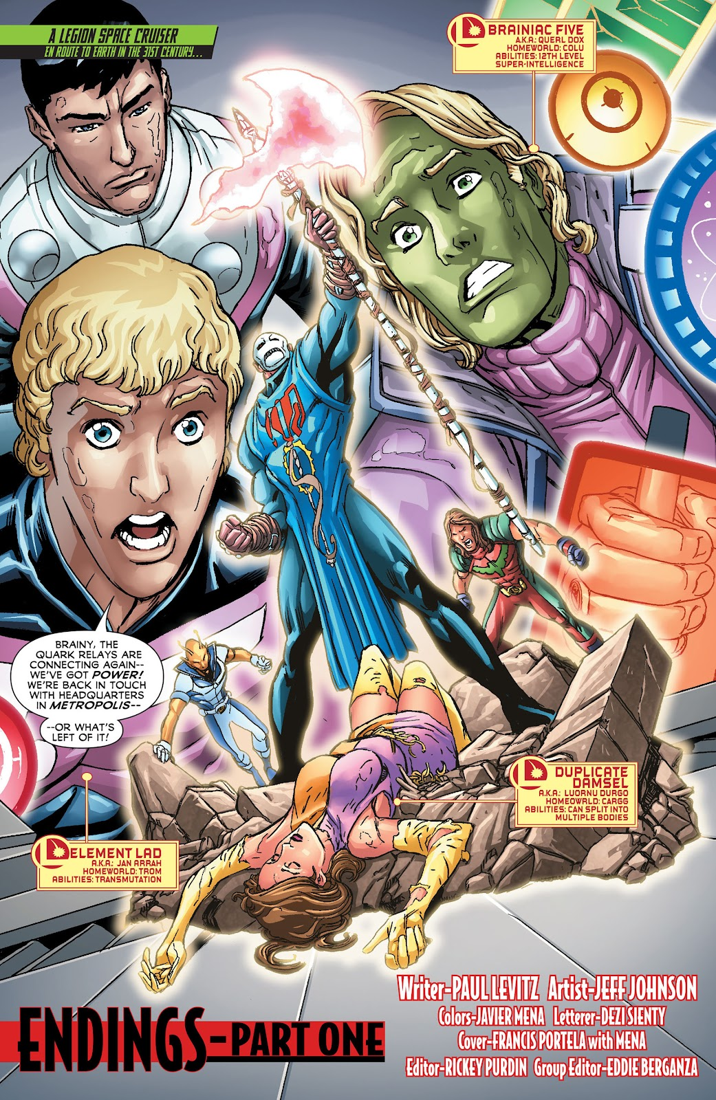 Legion of Super-Heroes (2011) Issue #21 #22 - English 2