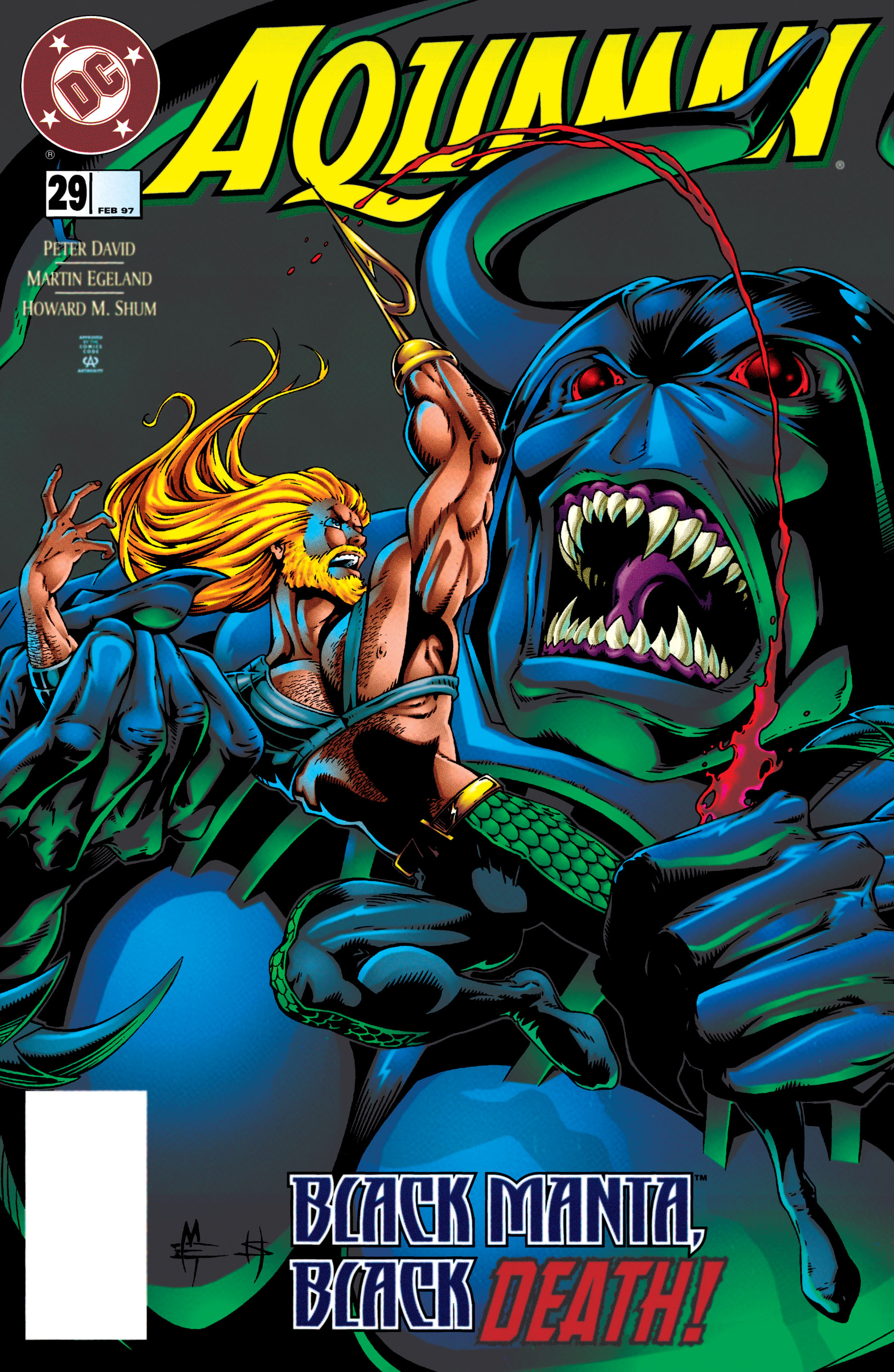 Read online Aquaman (1994) comic -  Issue #29 - 1