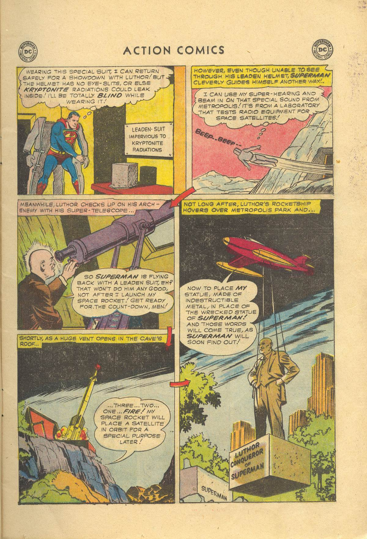 Read online Action Comics (1938) comic -  Issue #249 - 9