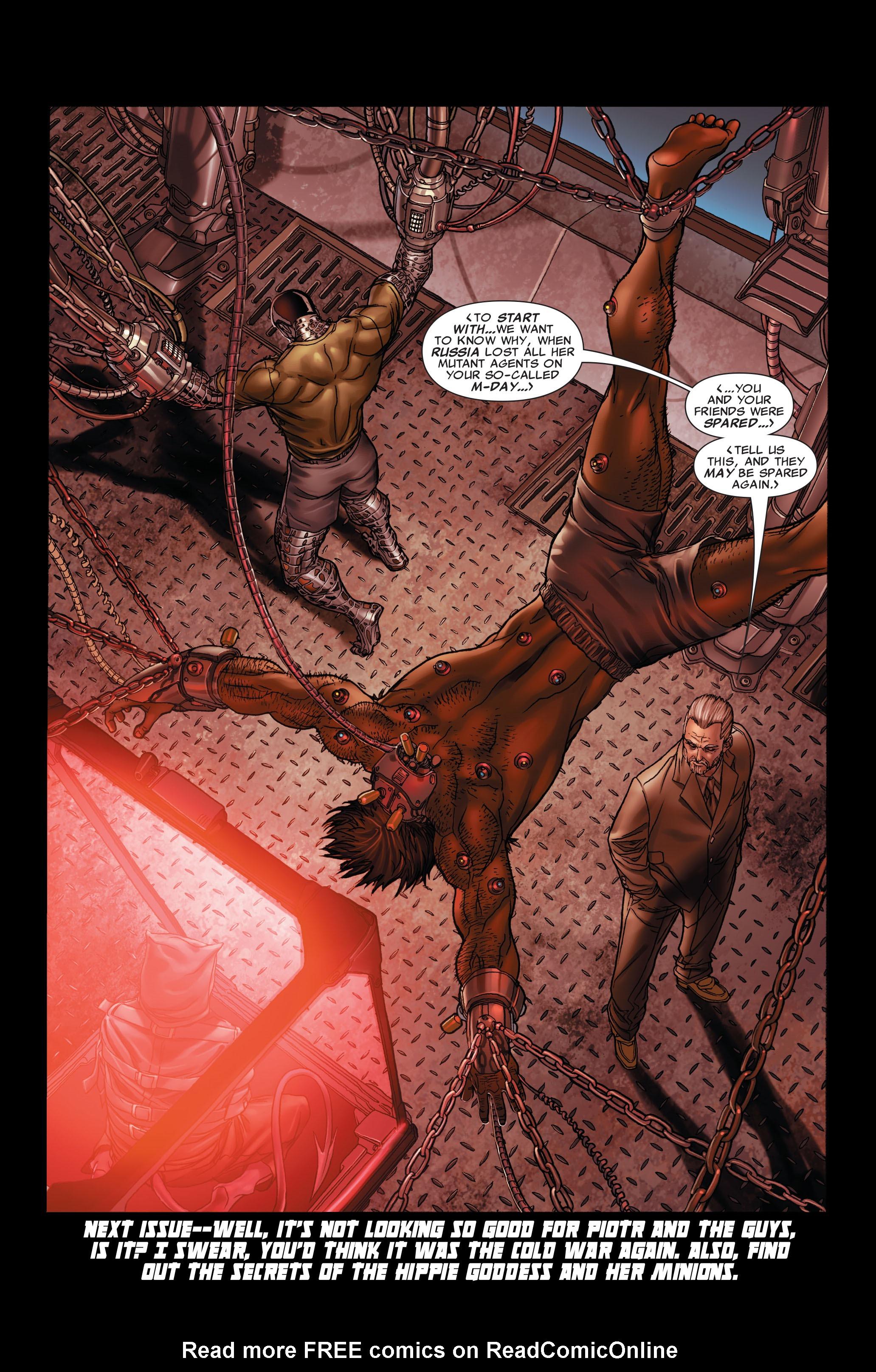 Read online Uncanny X-Men (1963) comic -  Issue #497 - 24