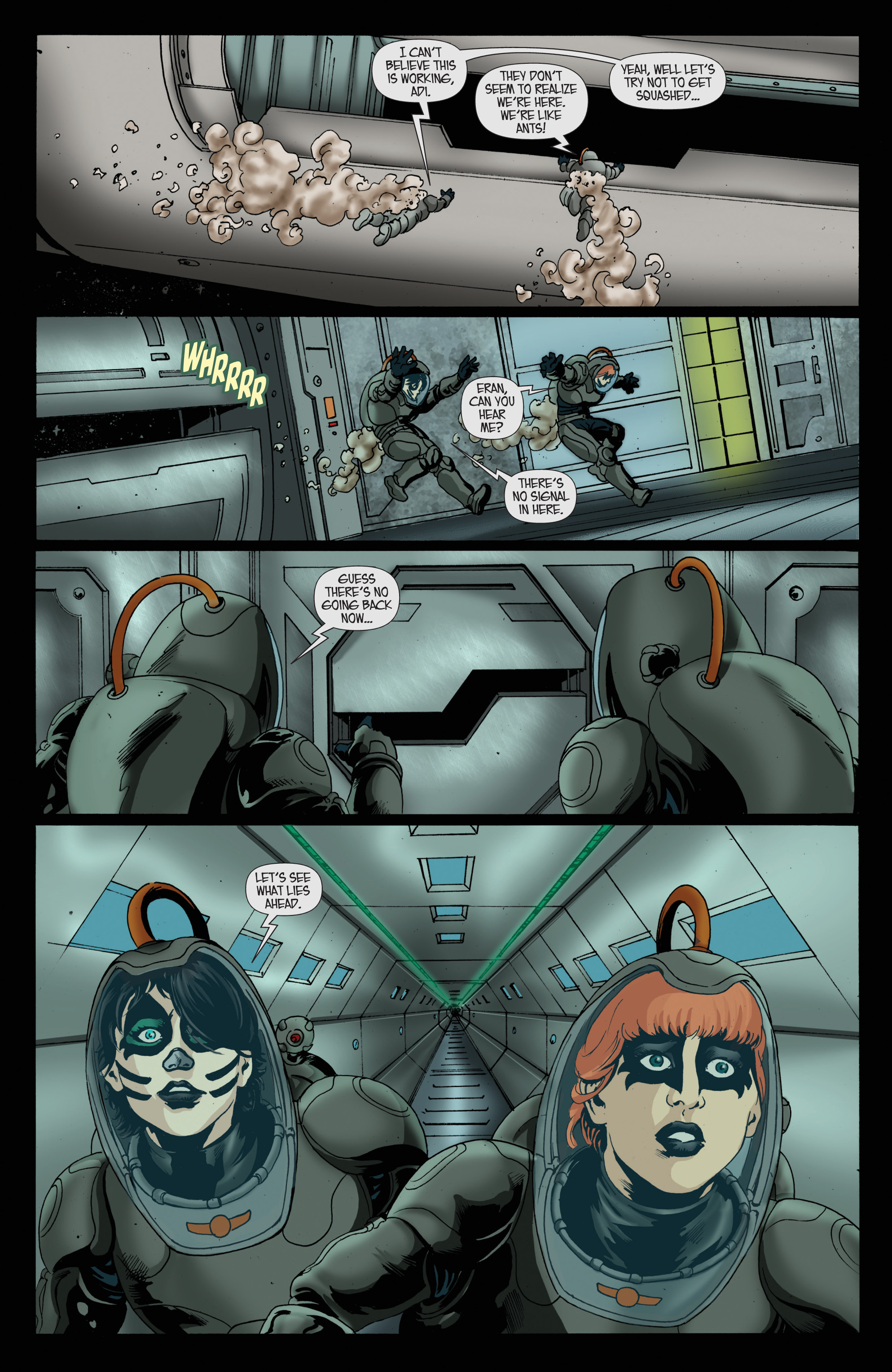 Read online KISS comic -  Issue #8 - 13