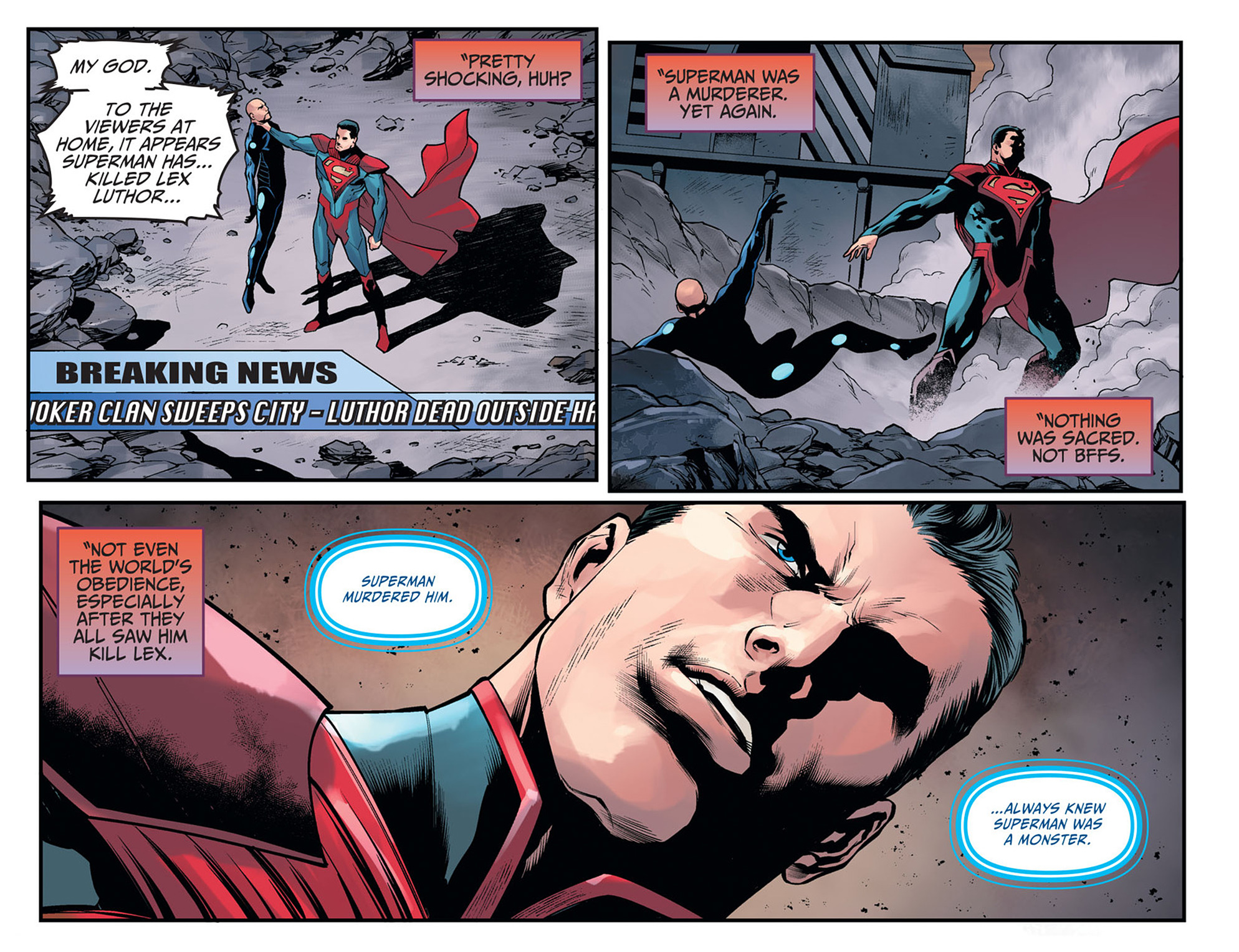 Read online Injustice: Ground Zero comic -  Issue #20 - 4