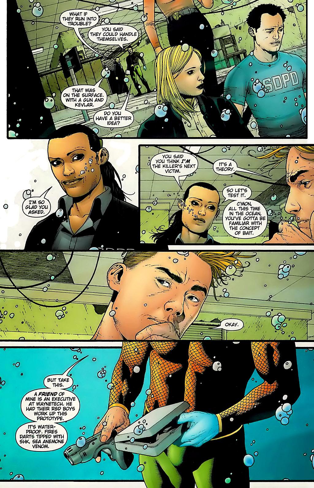 Read online Aquaman (2003) comic -  Issue #31 - 10