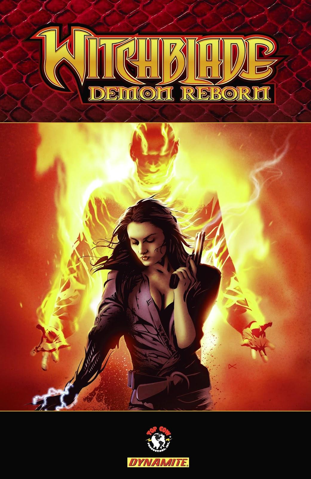 Witchblade: Demon Reborn _TPB Page 1
