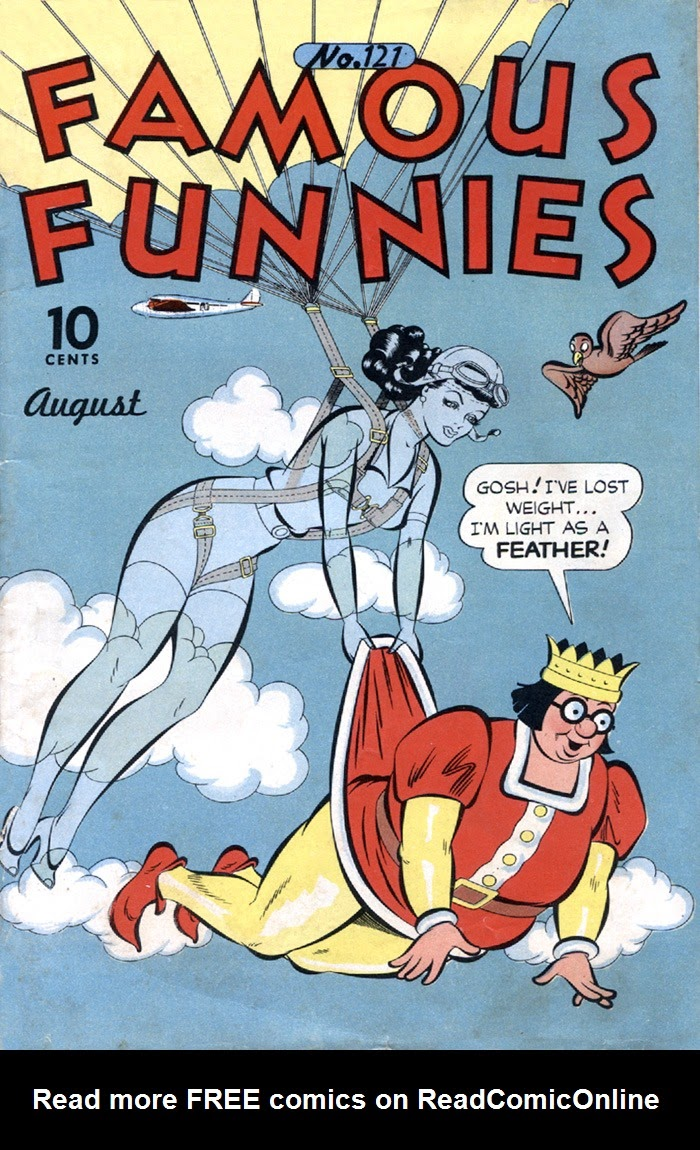 Read online Famous Funnies comic -  Issue #121 - 1