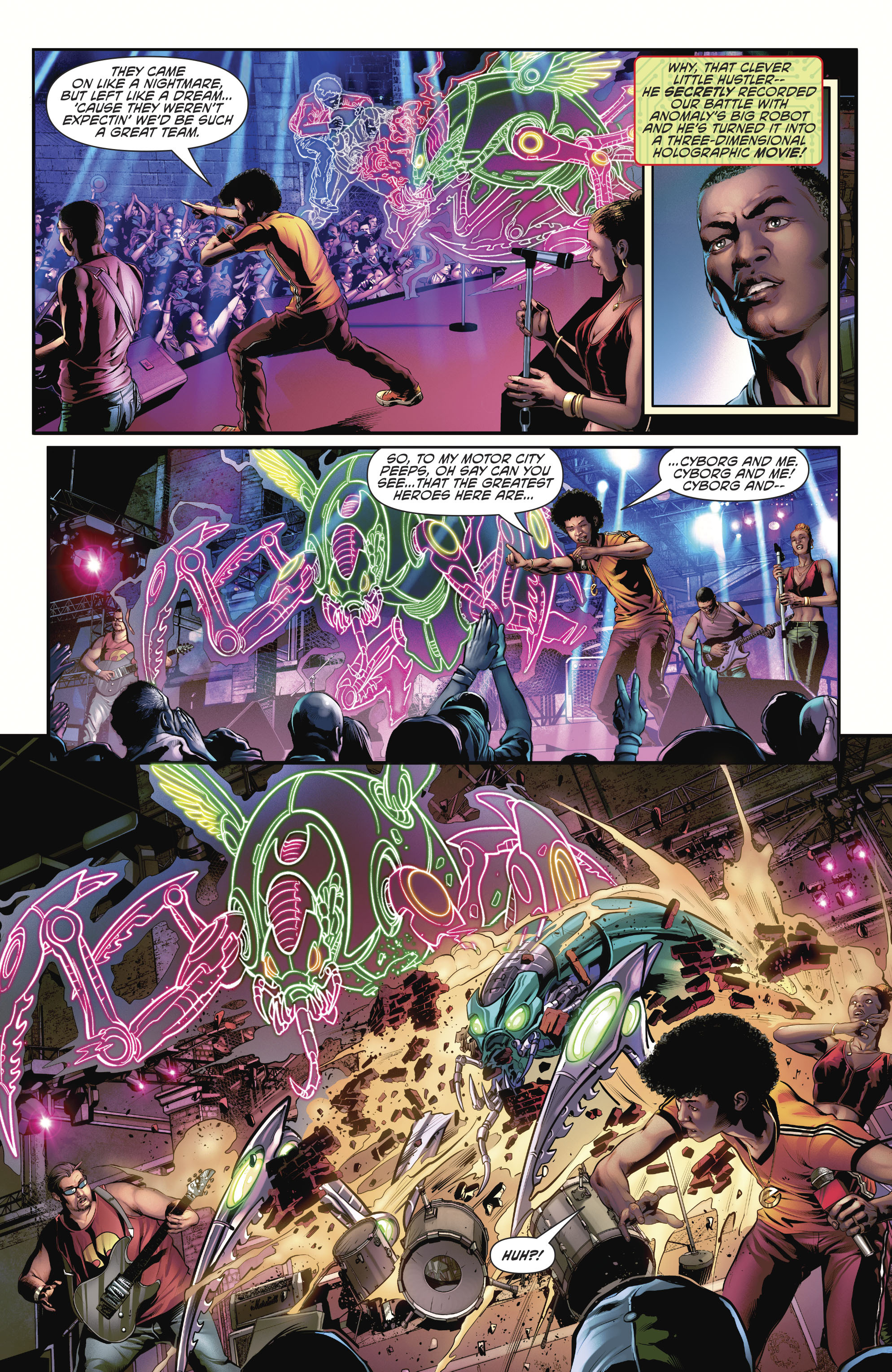 Read online Cyborg (2016) comic -  Issue #12 - 14