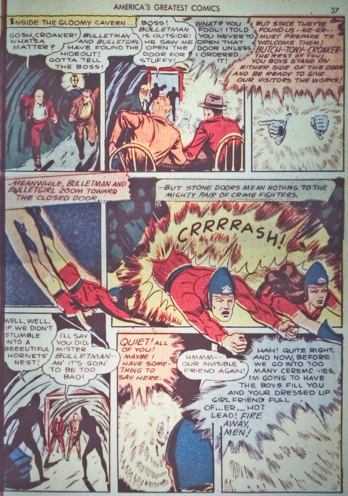Read online America's Greatest Comics comic -  Issue #1 - 40