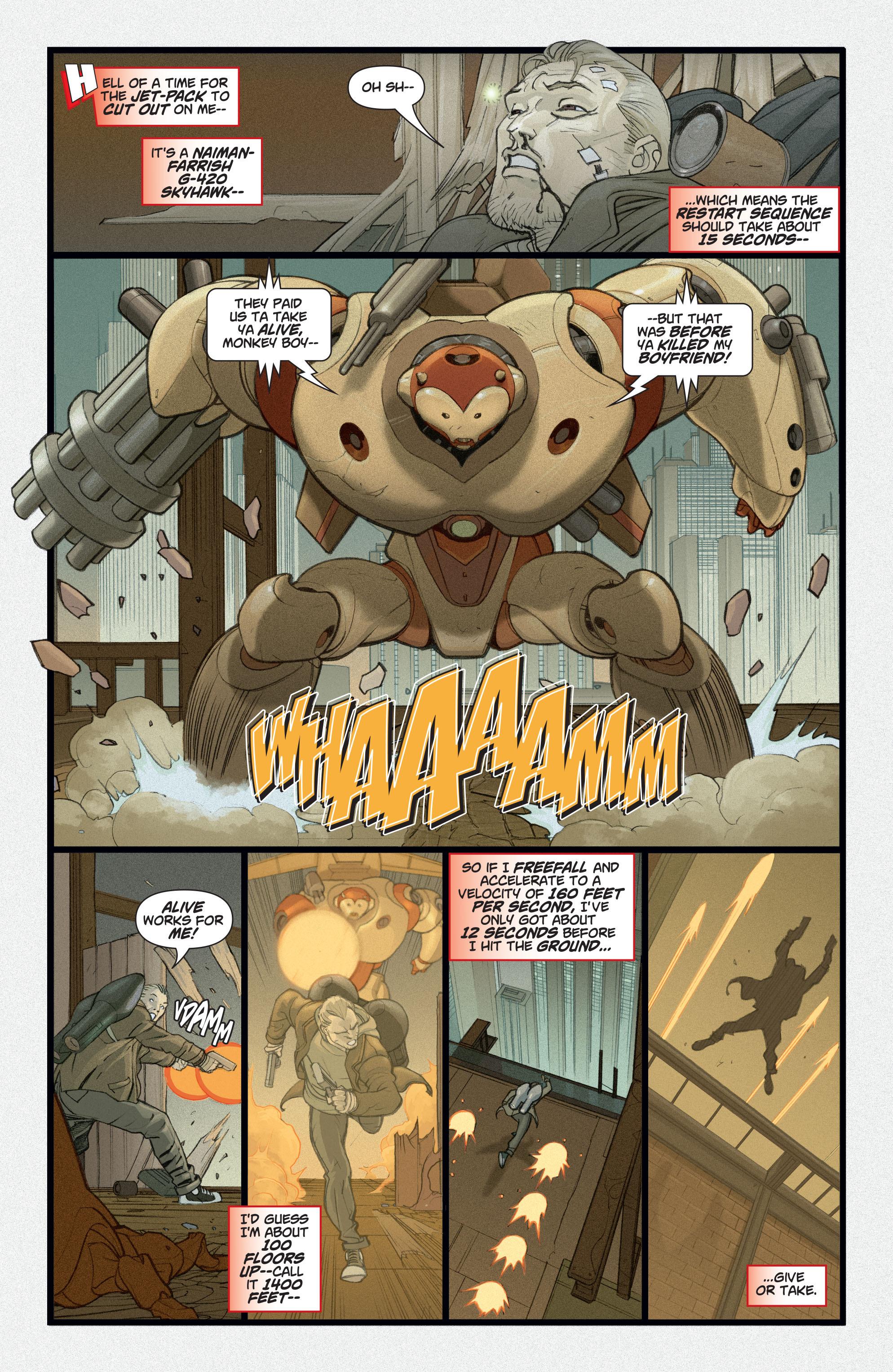 Read online Adam Strange (2004) comic -  Issue #2 - 6