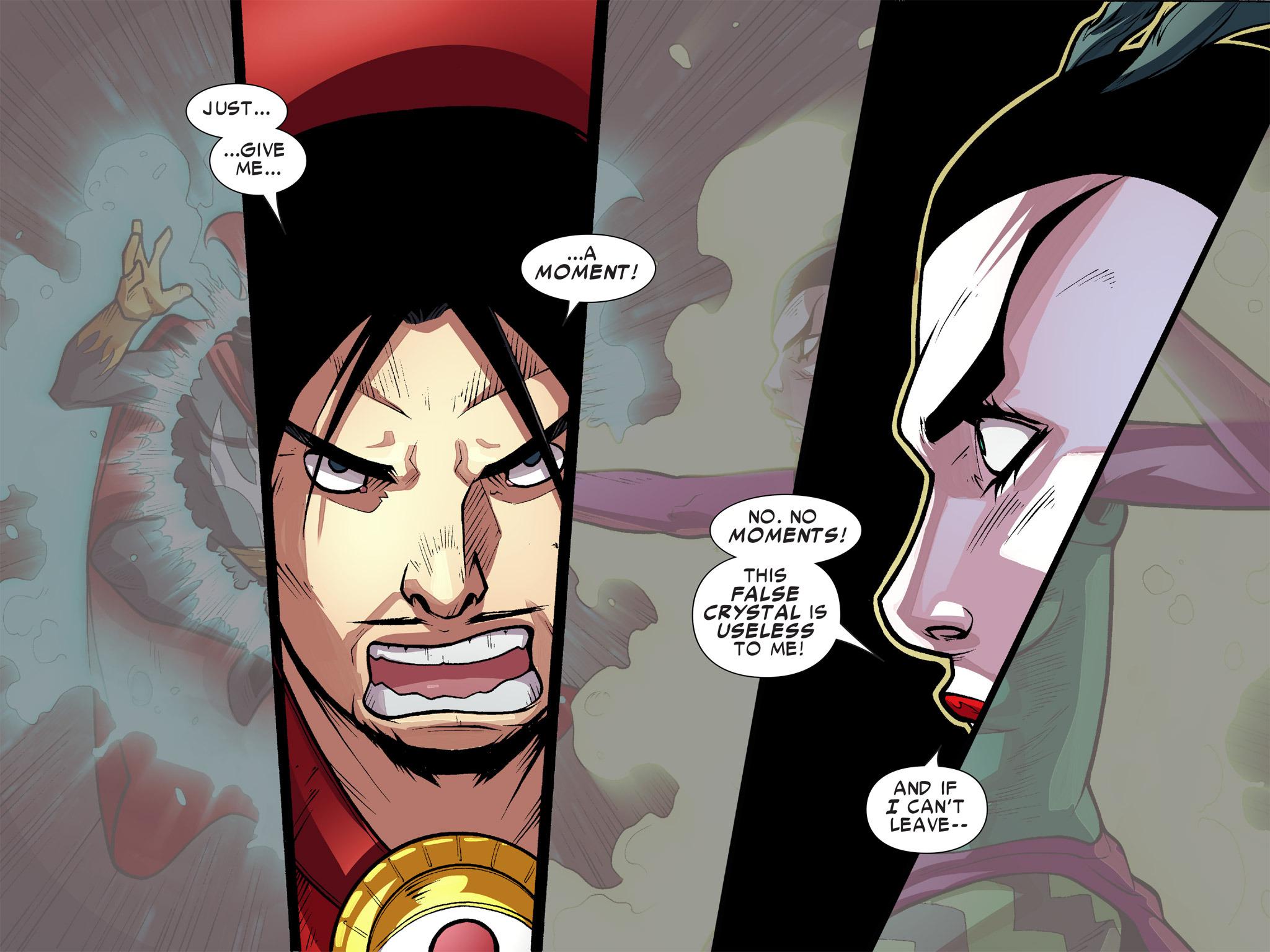 Read online Ultimate Spider-Man (Infinite Comics) (2016) comic -  Issue #10 - 11