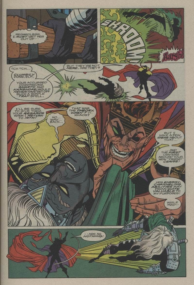 Excalibur (1988) issue Annual 1 - Page 28