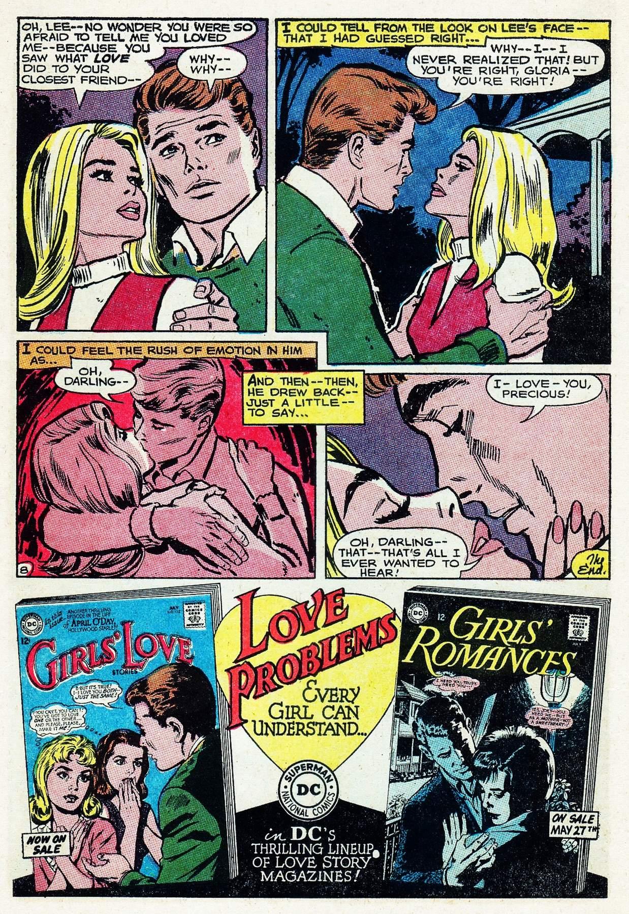 Read online Secret Hearts comic -  Issue #105 - 10