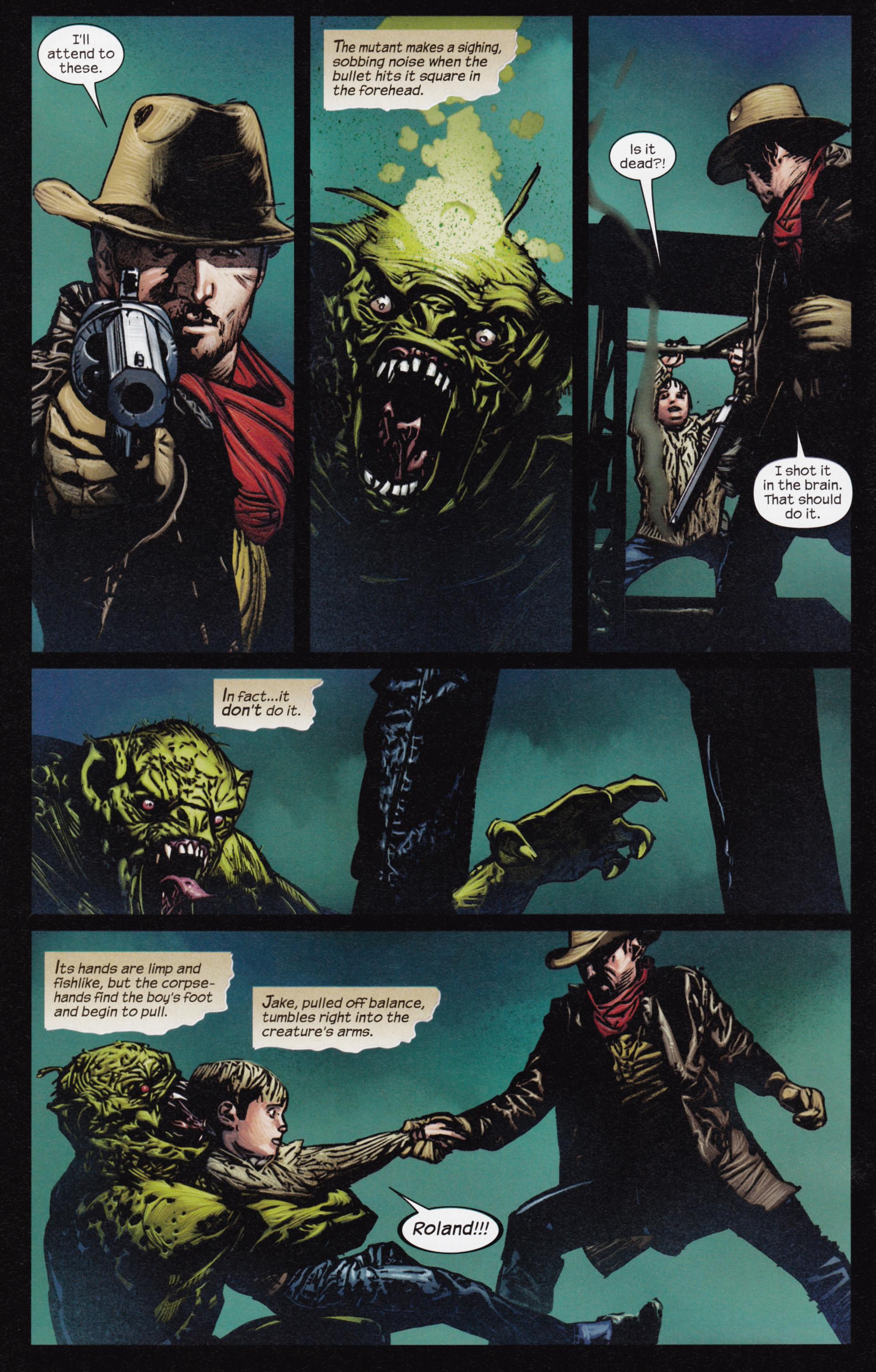 Read online Dark Tower: The Gunslinger - The Man in Black comic -  Issue #3 - 5