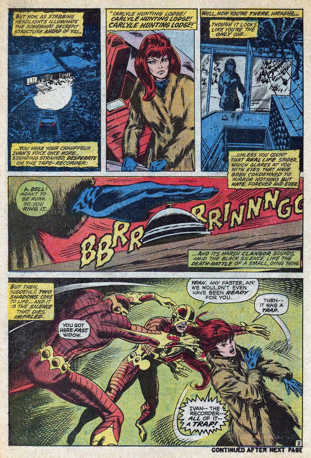 Read online Amazing Adventures (1970) comic -  Issue #8 - 18