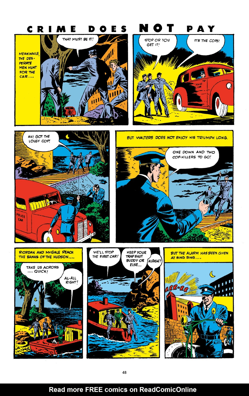Read online Crime Does Not Pay Archives comic -  Issue # TPB 3 (Part 1) - 48