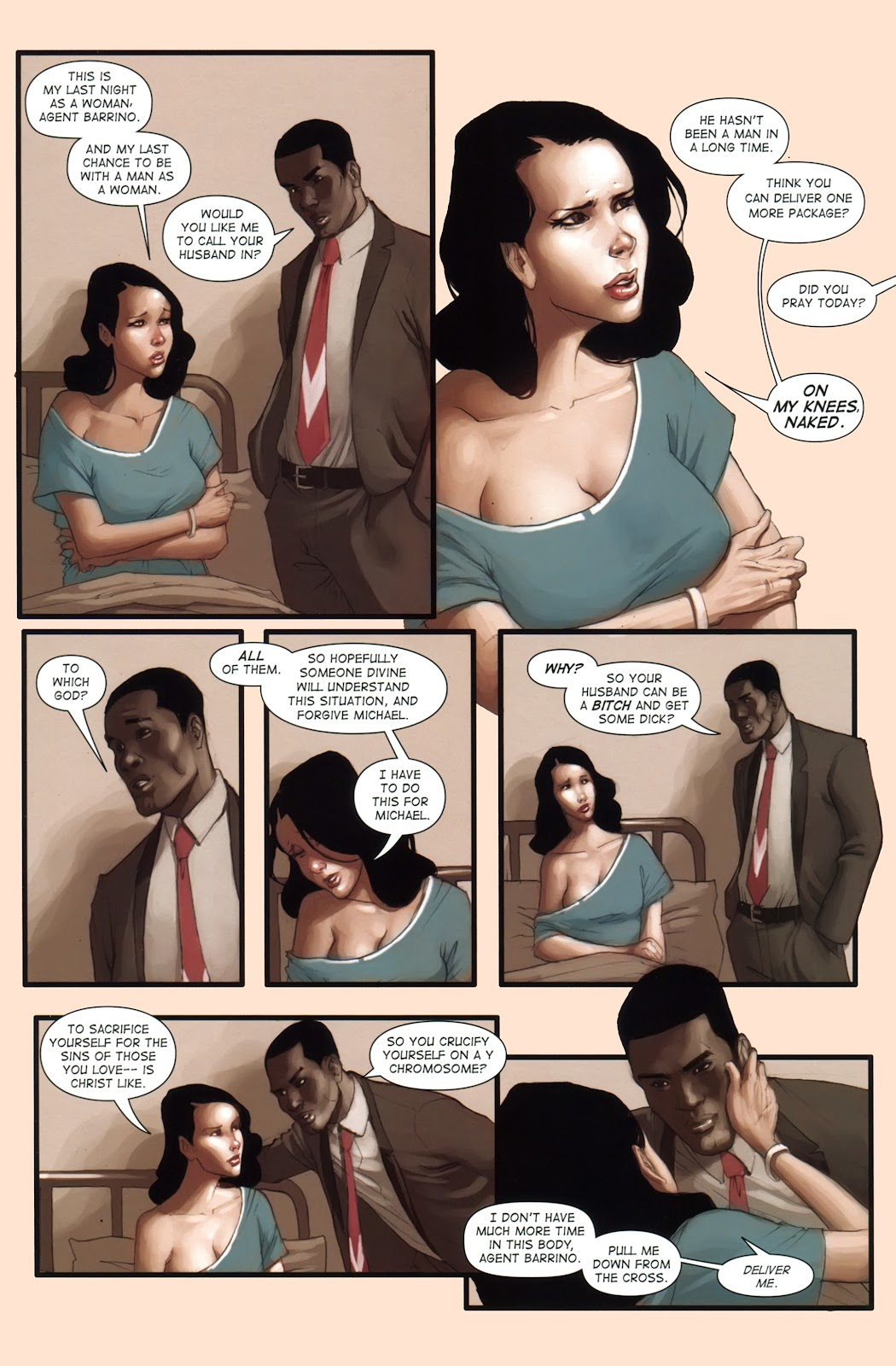 Read online Vescell comic -  Issue #1 - 12