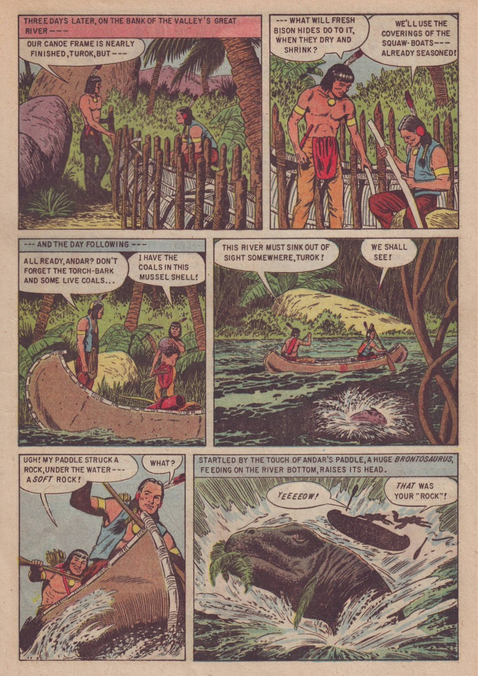 Read online Turok, Son of Stone comic -  Issue #3 - 21