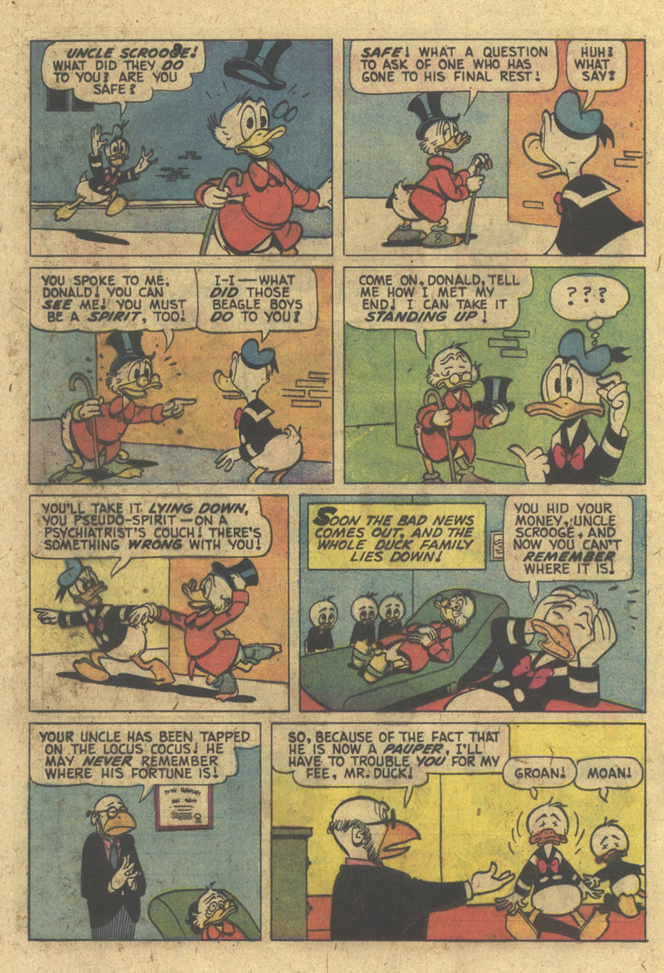 Read online Uncle Scrooge (1953) comic -  Issue #129 - 20