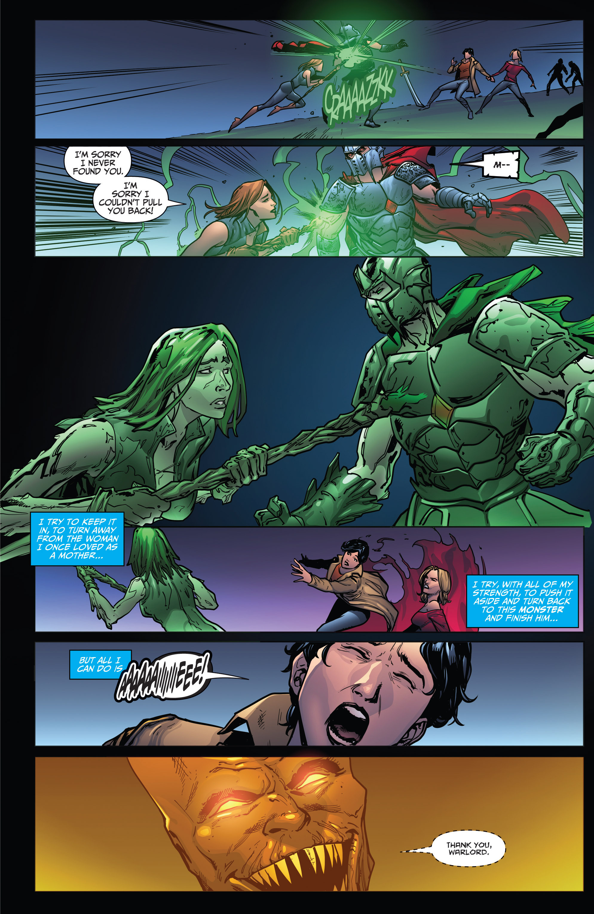 Read online Grimm Fairy Tales: Arcane Acre comic -  Issue # TPB 4 - 183