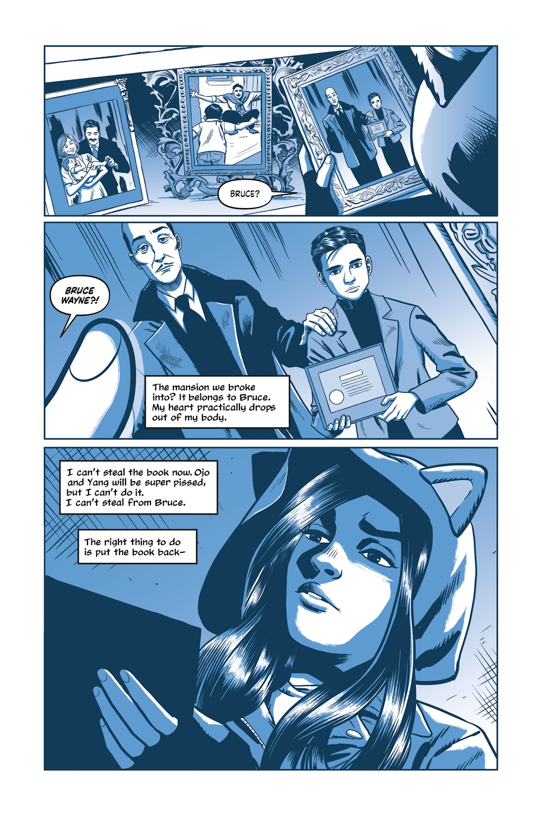Read online Under the Moon: A Catwoman Tale comic -  Issue # TPB (Part 2) - 48