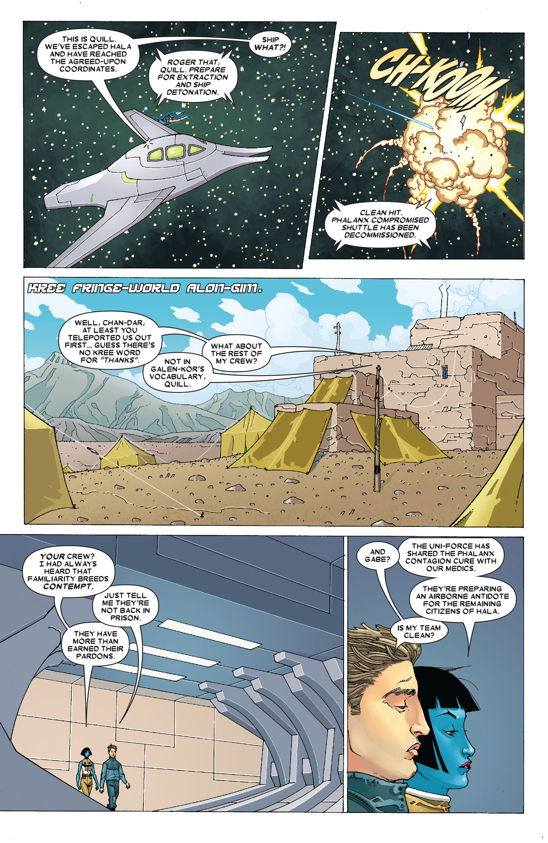 Read online Annihilation: Conquest - Starlord comic -  Issue #4 - 20