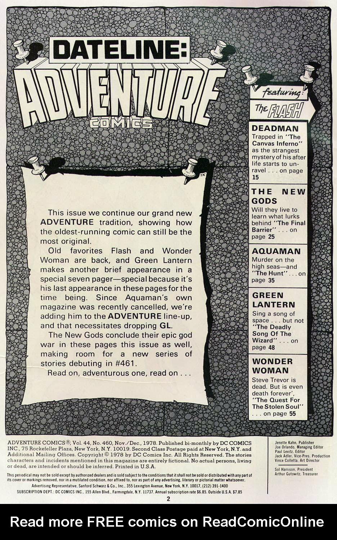 Read online Adventure Comics (1938) comic -  Issue #460 - 2