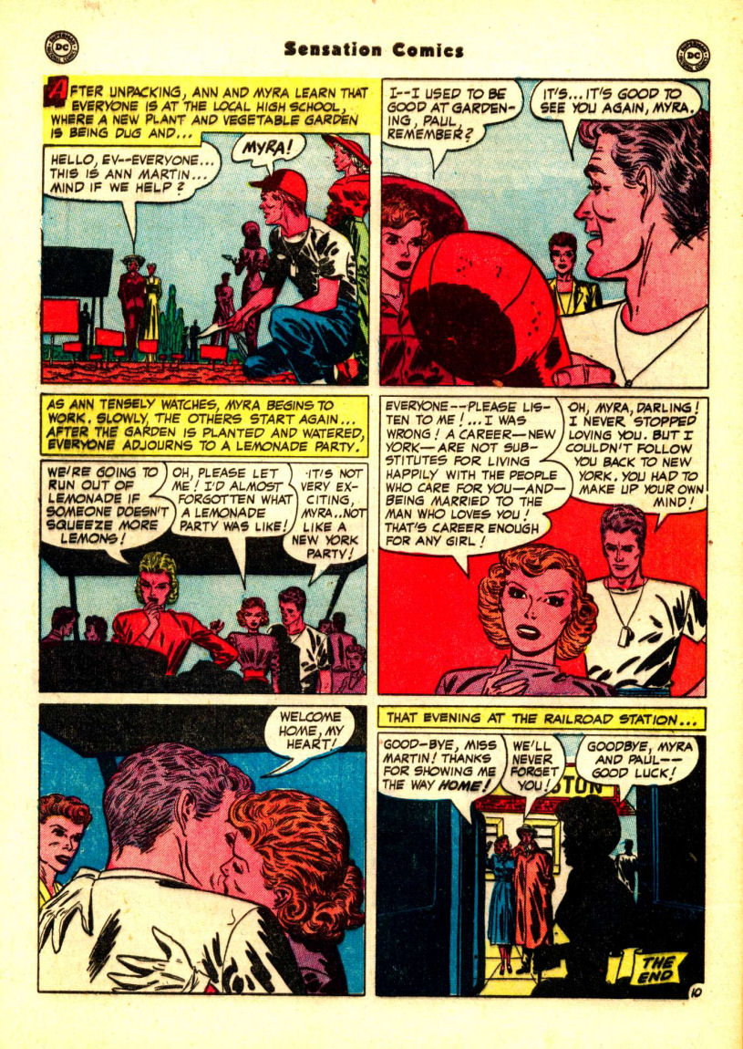 Read online Sensation (Mystery) Comics comic -  Issue #99 - 48