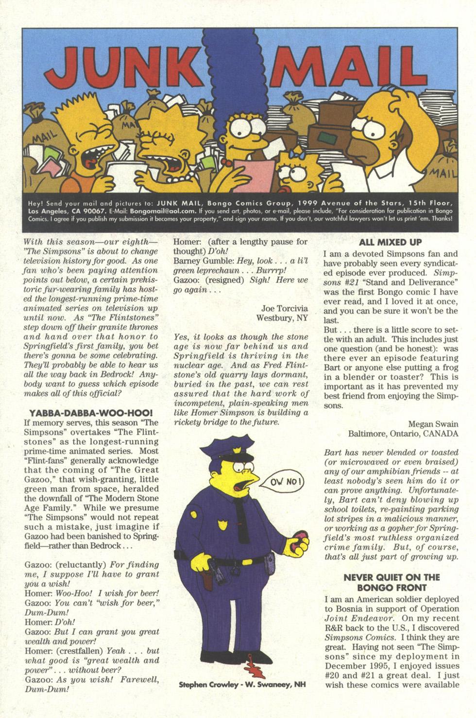 Read online Simpsons Comics comic -  Issue #25 - 24