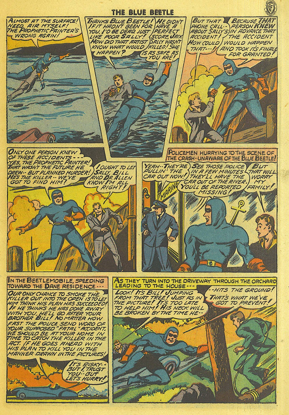 The Blue Beetle issue 35 - Page 8