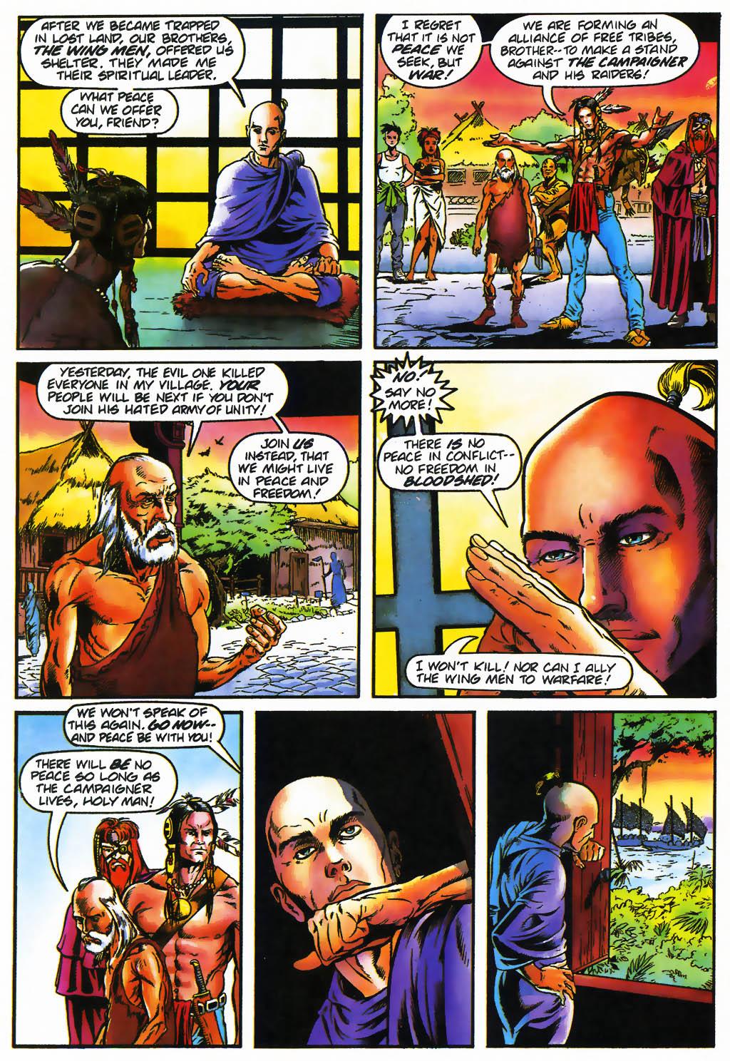 Read online Turok, Dinosaur Hunter (1993) comic -  Issue #26 - 19